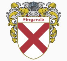Fitzgerald Coat of Arms/Family Crest T-Shirt
