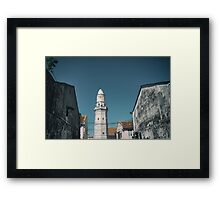 Masjid, Penang Framed Print