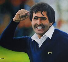Seve Ballesteros Oil on Canvas by daverives
