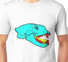 Puma Skull in Cartoon Style Unisex T-Shirt