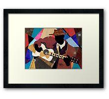 Memphis Blues Framed Print
