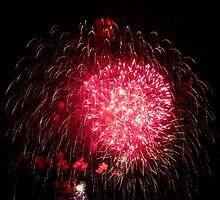 Red Firework by BigBen2