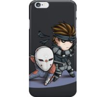 MGS1: Fox and Snake iPhone Case/Skin