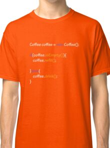 Coffee - code Classic T-Shirt