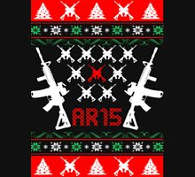 Ar-15 Ar15 Ugly Christmas Sweater T-Shirt