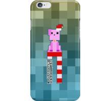 Pixel Merry Christmas iPhone Case/Skin