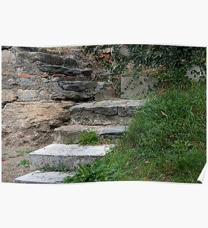 Steps In Stone Poster