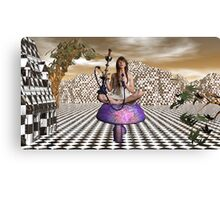 Getting Stoned In Wonderland Canvas Print