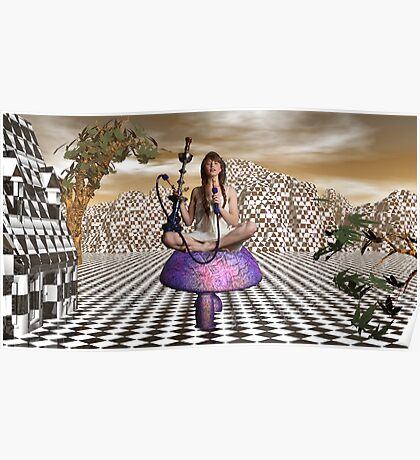 Getting Stoned In Wonderland Poster