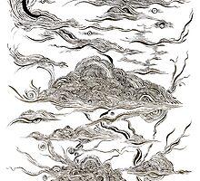 Alkaline Cloudscape  by Arlen Dean (Alkaline Samurai)