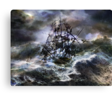The Rage of Poseidon III Canvas Print