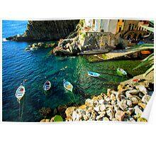 Riomaggiore - Italy Poster