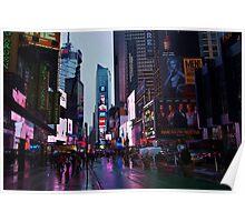 NY City Lights Poster