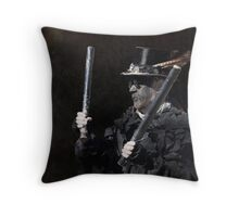 Wolf's Head Morris Man Throw Pillow