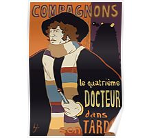 Le Fourth Doctor Poster