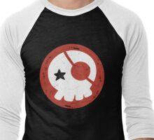 EVANGELION - Asuka Langley Skull Men's Baseball ¾ T-Shirt