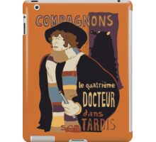 Le Fourth Doctor iPad Case/Skin