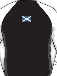 Scottish Flag Freedom Seeker T-Shirt T-Shirt