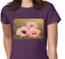 Palace Poppies ~ A Royal Display Womens Fitted T-Shirt