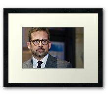 Steve Carell Framed Print