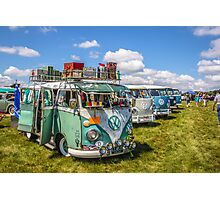 VW busses wide version Photographic Print