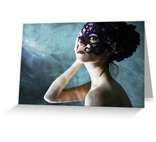 Anima Receding Greeting Card