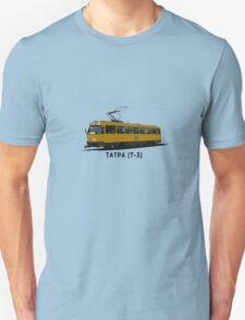 Tatra T-3 Soviet Streetcar T-Shirt