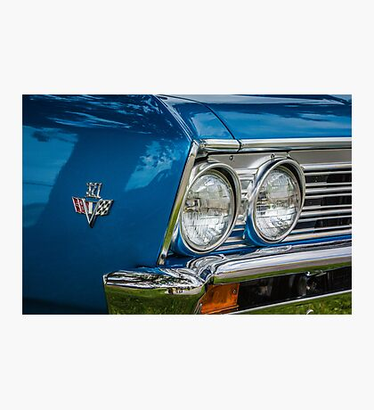 Chevelle Grill Photographic Print