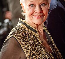 Judi Dench by Paul Bird