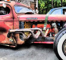 Ratrod Wild Truck by thatstickerguy