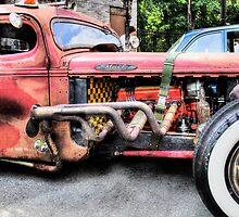 Ratrod Wild Truck by Tony  Bazidlo