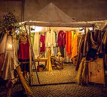 The Seamstress's Tent  by Boston Thek Imagery