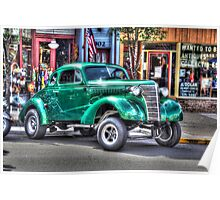 Old Chevy Gasser Poster