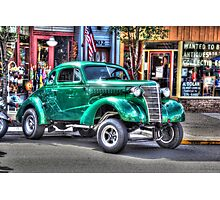 Old Chevy Gasser Photographic Print