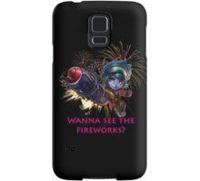 Tristana fireworks Samsung Galaxy Case/Skin