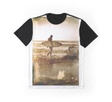 Vintage Surfer Graphic T-Shirt