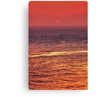 Sunset - California Canvas Print