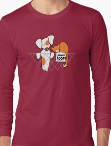 Please Adopt Shelter Pets | Patch & Rusty™ Long Sleeve T-Shirt