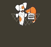 Please Adopt Shelter Pets | Patch & Rusty™ T-Shirt