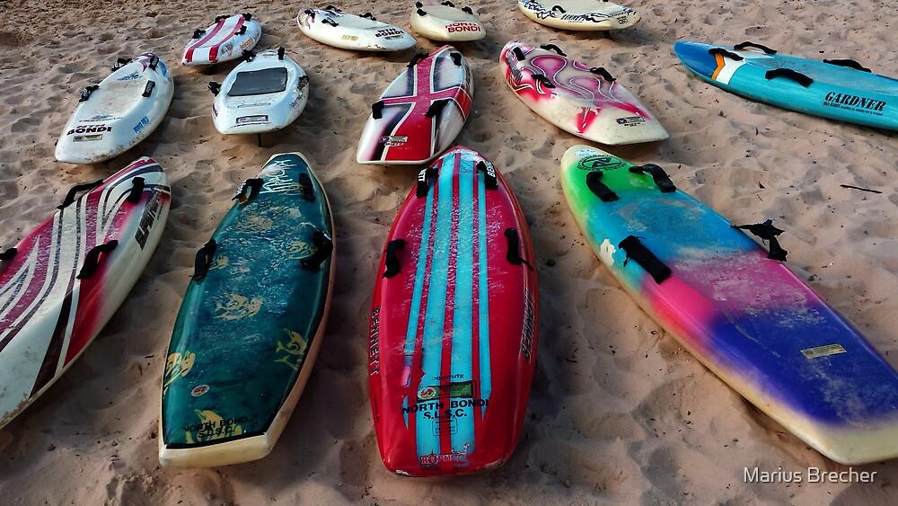 Gone Surfing by Marius Brecher