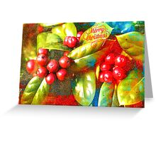 Happy Holly-days! Greeting Card