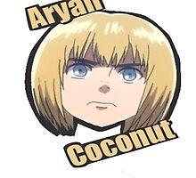 Aryan coconut by Sarah St. Pierre