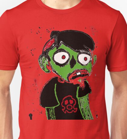 Zombie Dude Unisex T-Shirt