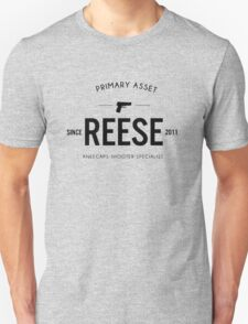 Person of Interest - Reese - Black T-Shirt