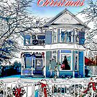 Merry Christmas In The Snow by Diana Graves Photography