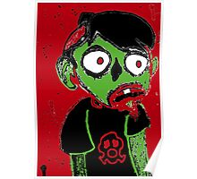 Zombie Dude Poster