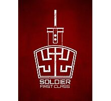 Soldier 1st class! Photographic Print