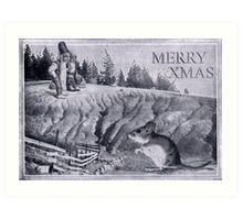 Santa's Little Helper (Brainwashing). Art Print