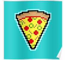 Pixel Pizza Poster