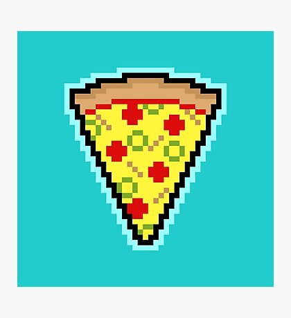 Pixel Pizza Photographic Print